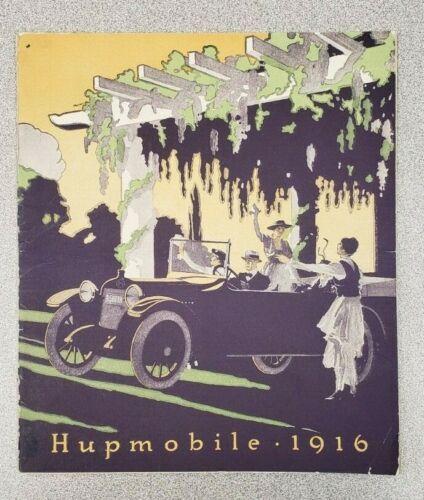 1916 Hupmobile Sales Catalog
