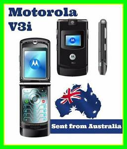 Motorola RAZR V3i Flip Mobile Phone Bundle | Unlocked Adelaide CBD Adelaide City Preview