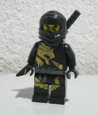 Cole DX 2520 2170 2509 Golden Weapons Black Ninja Ninjago Lego Minifigure Figure