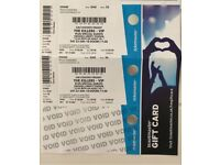 2 x the Killers VIP early entry standing tickets - Swansea June 23rd