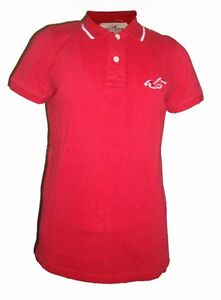 Mens Hollister Short Sleeve 100% Authentic Mens Tippe Polo Shirt Size M L XL XXL