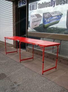 Brand New RED FRAME CAMPING TABLE (Limited Stock Available) Lonsdale Morphett Vale Area Preview