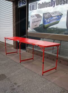 Brand New RED FRAME Beer Pong Tables (Limited Stock Available) Lonsdale Morphett Vale Area Preview