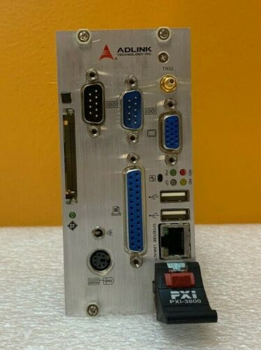 Adlink PXI-3800/PM18 Pentium M 1.8 GHz, 40 GB HD, PXI System Controller. Tested!
