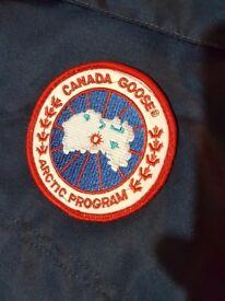 Canada Goose Mens Jacket Blue Large Brand New