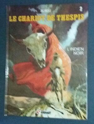 Le Chariot de Thespis 2 reed L'Indien noir Rossi Glénat