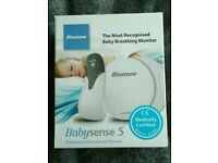 Baby sense breathing monitor