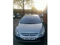 Peugeot 307, Grey, Drives Immaculate For Age, 2003, 1.4 litre