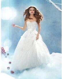Alfred Angelo Snow White Wedding Dress- Disney