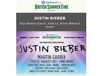 Justin Bieber - British Summer Time Hyde Park