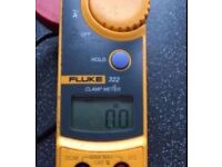 Fluke 322 clamp meter