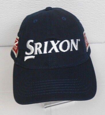 8db0e9870dc SRIXON Z Star Strapback 100% Cotton Embroidered Golf Hat Cap Blue NEW