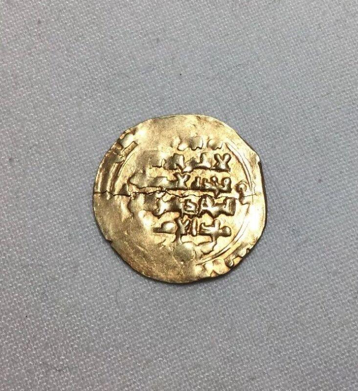 Medieval Afghanistan Gold Islamic Dinar Ghaznavid 10th Century A.D. 3.1 Grams