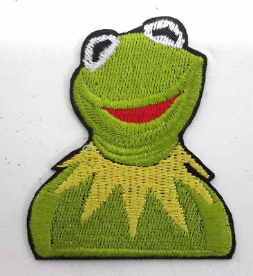 Kermit der Frosch - Muppets Sesamstraße - Uniform Patch - Kostüm Aufnäher - neu