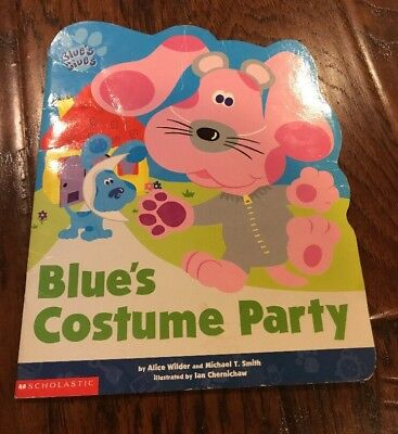 Blues Costume Party Blues Clues Softcover Book Blue's - Blues Clues Costume