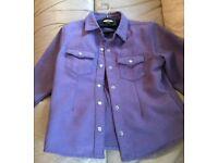 Purple shirt Next Size 7 years