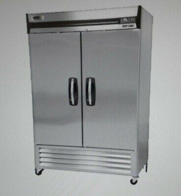 Scratch And Dent Norlake Nlr49 Two Door Reach-in Refrigerator
