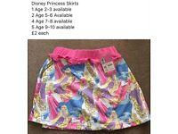 Disney Princess skirts