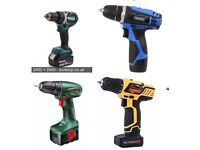 Cordless drill wanted