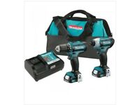 Makita 12 volt MAX - CXT Lithium ion cordless 3/8 in.