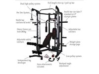 Marcy Eclipse RS7000 Deluxe Home Multi Gym