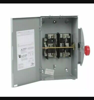 Eaton Dt223urh-n 100a 240 Outdoor Electrical Double Throw Safety Transfer Switch