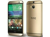 HTC ONE M8 NEW 32 GB UNLOKED GOLD/BLUE/SILVER/RED