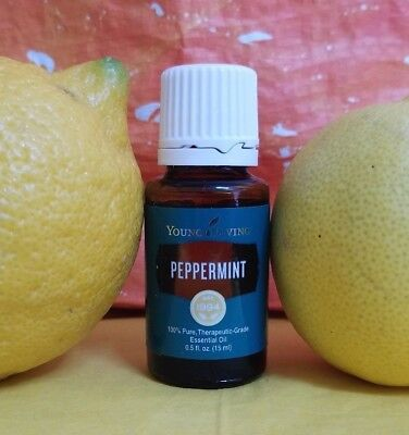 Young Living Peppermint Essential Oil   New Batch   15 Ml   Free Shipping