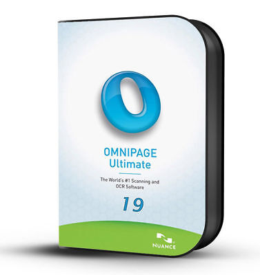 Nuance OmniPage Ultimate 19 OCR Scanning ( Instant Delivery )
