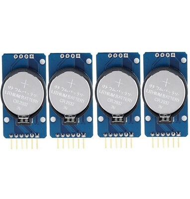 4pcs Ds3231 At24c32 Iic Precision Real Time Clock Rtc Memory Module