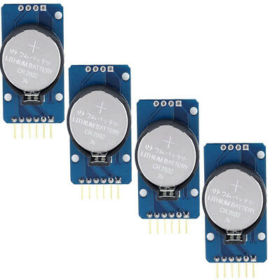 4pcs Accuracy Ds3231 At24c32 Iic Real Time Clock Rtc Memory Module New
