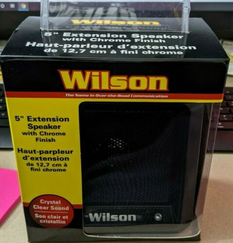 Wilson Antennas, 305600BLK, Extension Speaker, Black Finish
