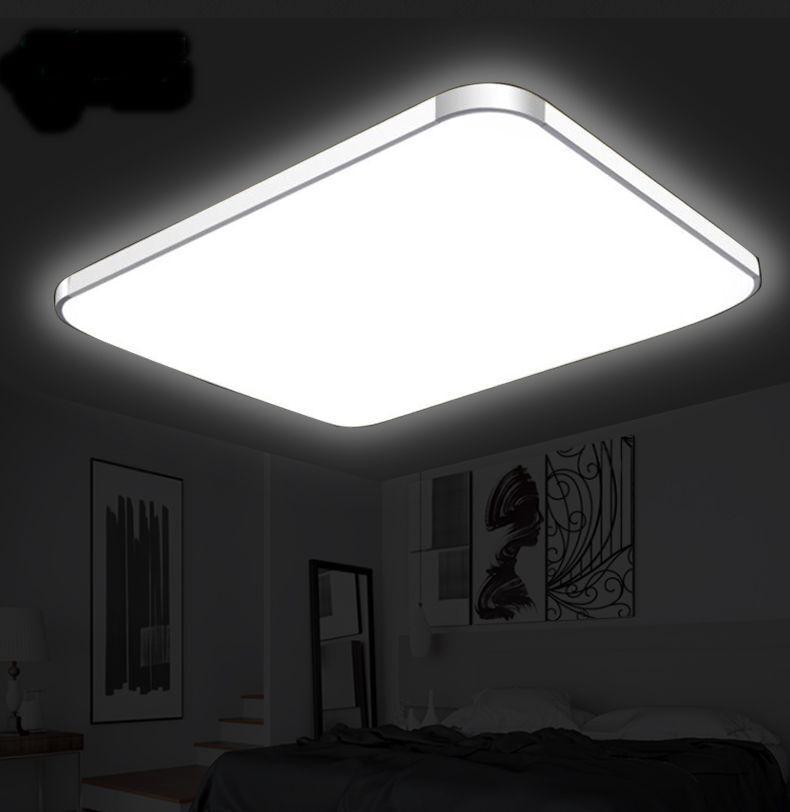 LED Deckenleuchte Deckenlampe 12 72W Wohnzimmer Badleuchte
