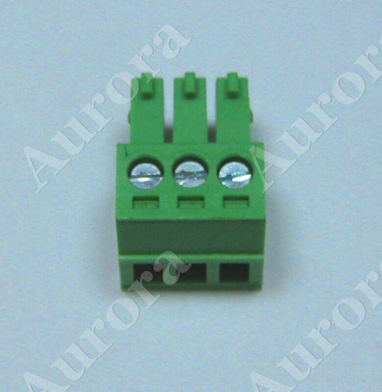 3 Pin - 3.5mm /  Screw Pluggable Connector - Terminal Block - Phoenix Plug