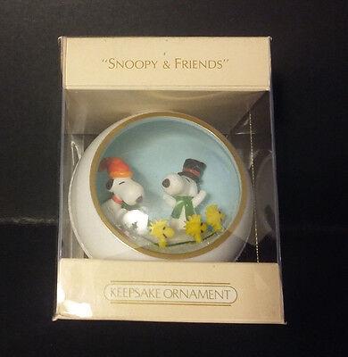 NIB 1981 Hallmark Ornament - SNOOPY & FRIENDS Woodstock - #3 in Series - QX4362