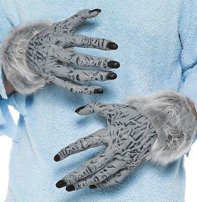 Halloween Kostüm Werwolf Hände Monster Handschuhe Grau von Smiffys Ref - Ref Halloween Kostüm