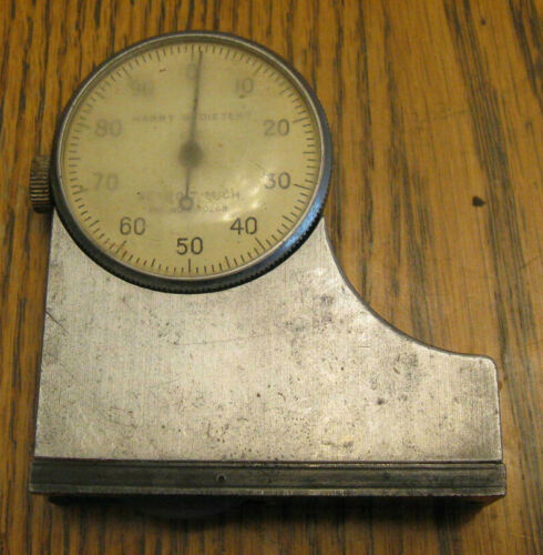 HARRY DIETERT Hardness Tester Model 670 Scale Gauge FOUNDRY / CASTING TOOL