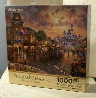 Thomas Kinkade Disneyland 60th Anniversary Puzzle (2015, Retired, BRAND NEW)