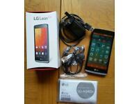 LG Leon LTE 4G Titan Black 8Gb Unlocked Excellent condition