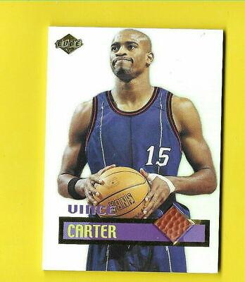 D6679 VINCE CARTER 1999 EDGE GAME BALL ROOKIE CARD #GG2