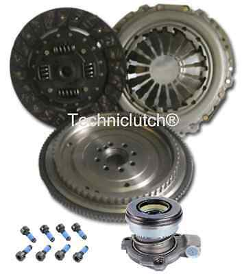 DUAL MASS TO SINGLE FLYWHEEL, CLUTCH KIT AND CSC FOR OPEL CORSA C 1.3 CDTI