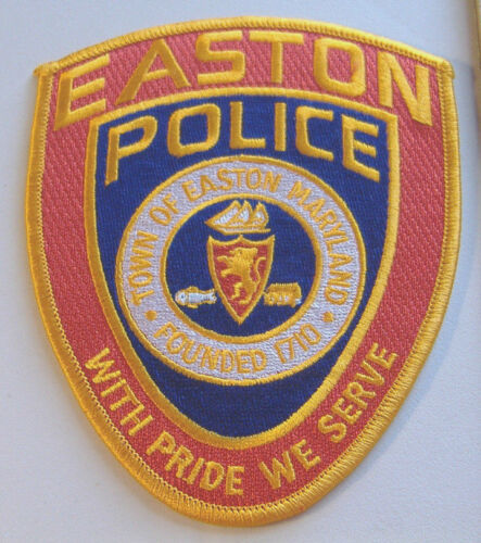 EASTON POLICE~MARYLAND~FABRIC PATCH