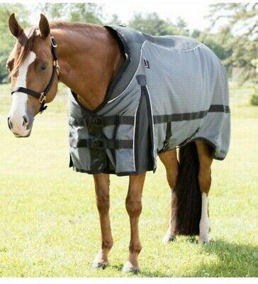 USA 72-76 Blanket Summer Stretch Mesh Fly Horse Sheet Tan//Beige Medium