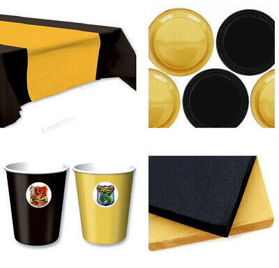 Coco&Bo - Hogwarts Houses Party Starter Tableware for 8 - Plates, Cups & Napkins - Coconut Decorations For Parties