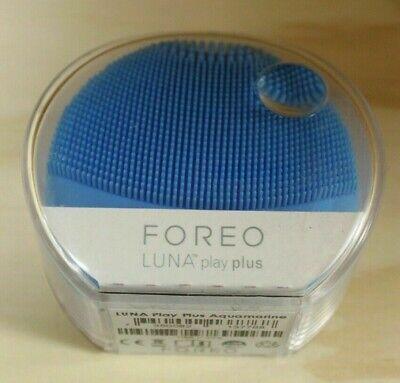 FOREO LUNA Play Plus Portable Facial Cleansing Brush (AQUAMARINE) - New/Sealed