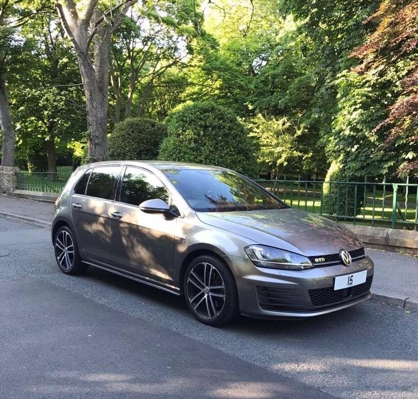 vw golf mk7 2015 bluemotion 1 6 gtd rep full spec may px with golf r audi s3 gti a45 replica. Black Bedroom Furniture Sets. Home Design Ideas