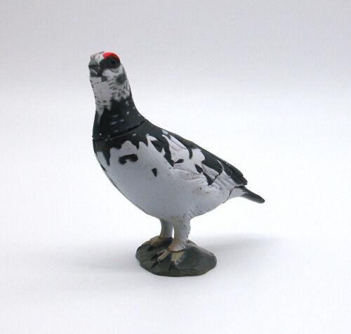 "Kaiyodo ChocoQ choco egg Rock Ptarmigan bird gacha figure toy 1"" Japan playset"