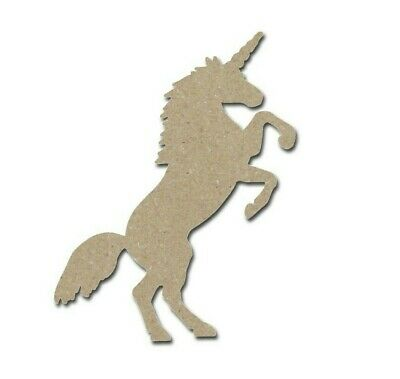 Unicorn Shape Unfinished MDF Animal Cut Outs Variety Of Sizes Made In USA](Animal Shapes)