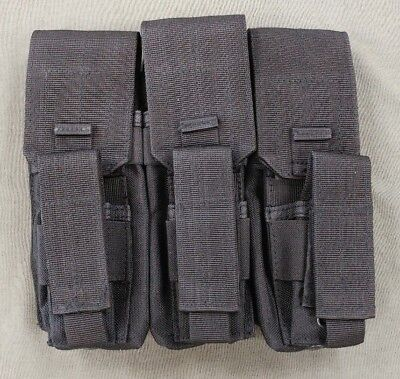 ACU AITES 9MM X3 by three tripple 9 mag pouch MADE in USA case SOCOM special op