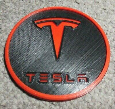 Tesla Car Drinks Coaster Coffee Tea Cup Tesla Model S X - Car Coaster